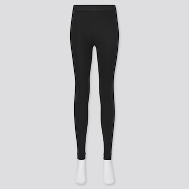 Women Heattech Extra Warm Pile-Lined Leggings (Online Exclusive), Black, Medium
