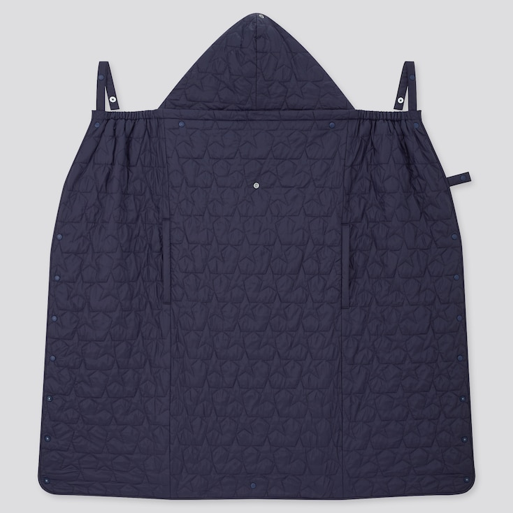 Newborn Light Warm Padded 2-Way Blanket (Online Exclusive), Navy, Large