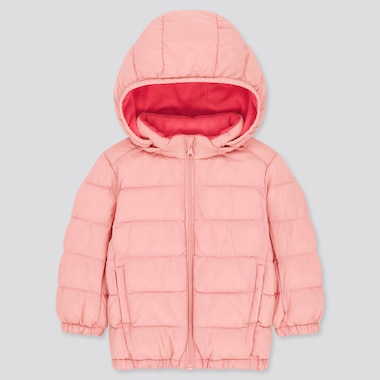 Toddler Light Warm Padded Full-Zip Parka (Online Exclusive), Pink, Medium