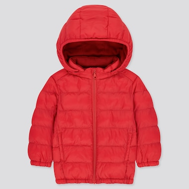 Toddler Light Warm Padded Full-Zip Parka (Online Exclusive), Red, Medium