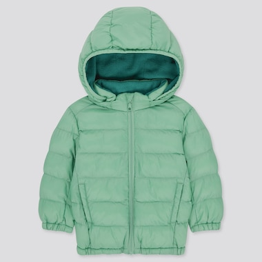 Toddler Light Warm Padded Full-Zip Parka, Green, Medium