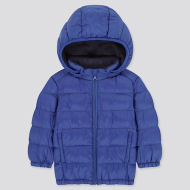 Toddler Light Warm Padded Full-Zip Parka, Blue, Medium