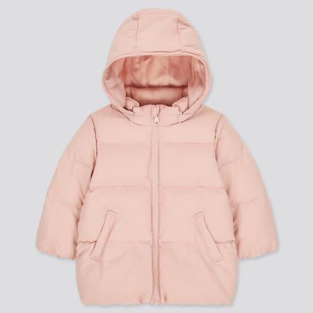 Baby Gefütterter Mantel mit Kapuze