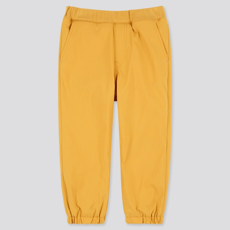 Toddler Stretch Warm-Lined Pants (Online Exclusive), Yellow, Large