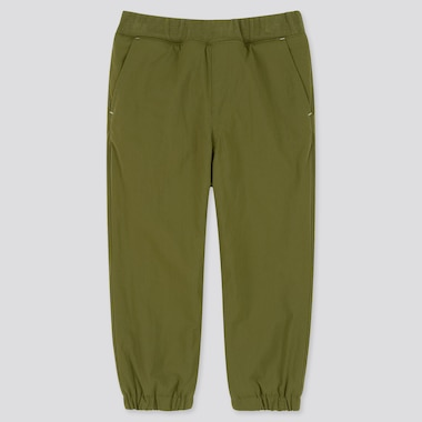 Toddler Stretch Warm-Lined Pants (Online Exclusive), Olive, Medium