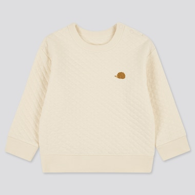 Babies Toddler Quilted Long Sleeved Pullover