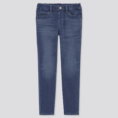 Kids HEATTECH Ultra Stretch Denim Slim Fit Pull-On Trousers