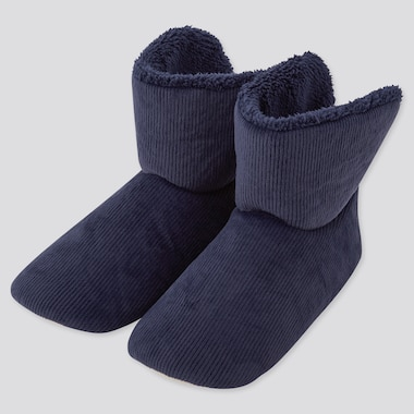 Women Corduroy Fleece Slippers