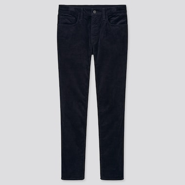Men Ultra Stretch Corduroy Skinny Fit Jeans