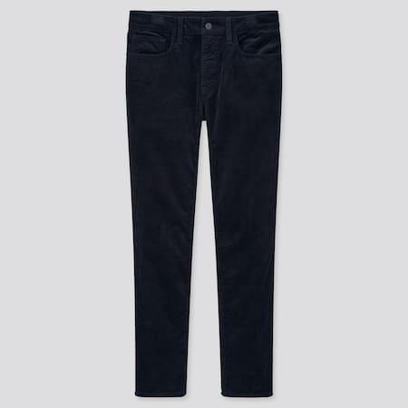 Men Ultra Stretch Corduroy Skinny Fit Jeans