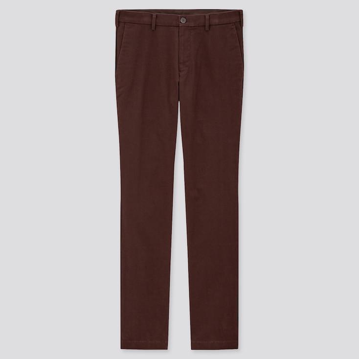 Men Slim-Fit Chino Pants, Wine, Large