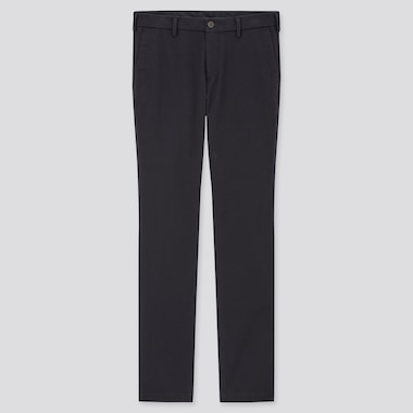 Men Slim-Fit Chino Pants, Navy, Medium