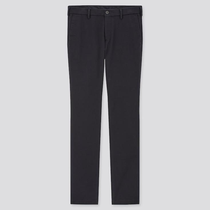 Men Slim-Fit Chino Pants, Navy, Large