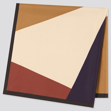Colour Block Printed Scarf