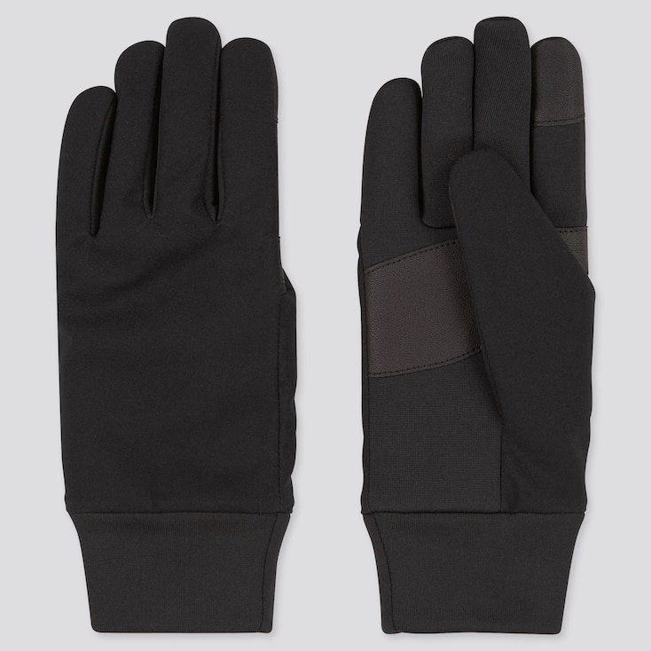 Women Function Gloves, Black, Large