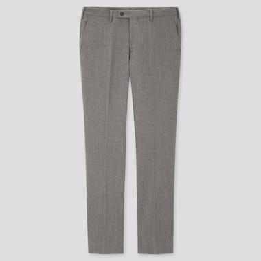 Pantaloni Da Completo Lana Elastica Slim UOMO