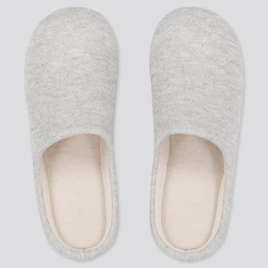 Slippers, Gray, Medium