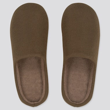Slippers, Brown, Medium