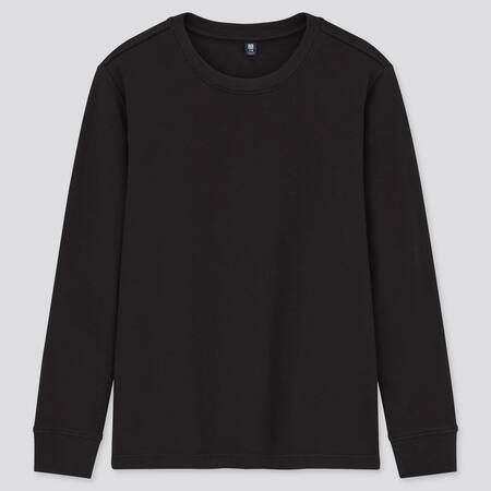 Kids Soft Touch Crew Neck Long Sleeved T-Shirt
