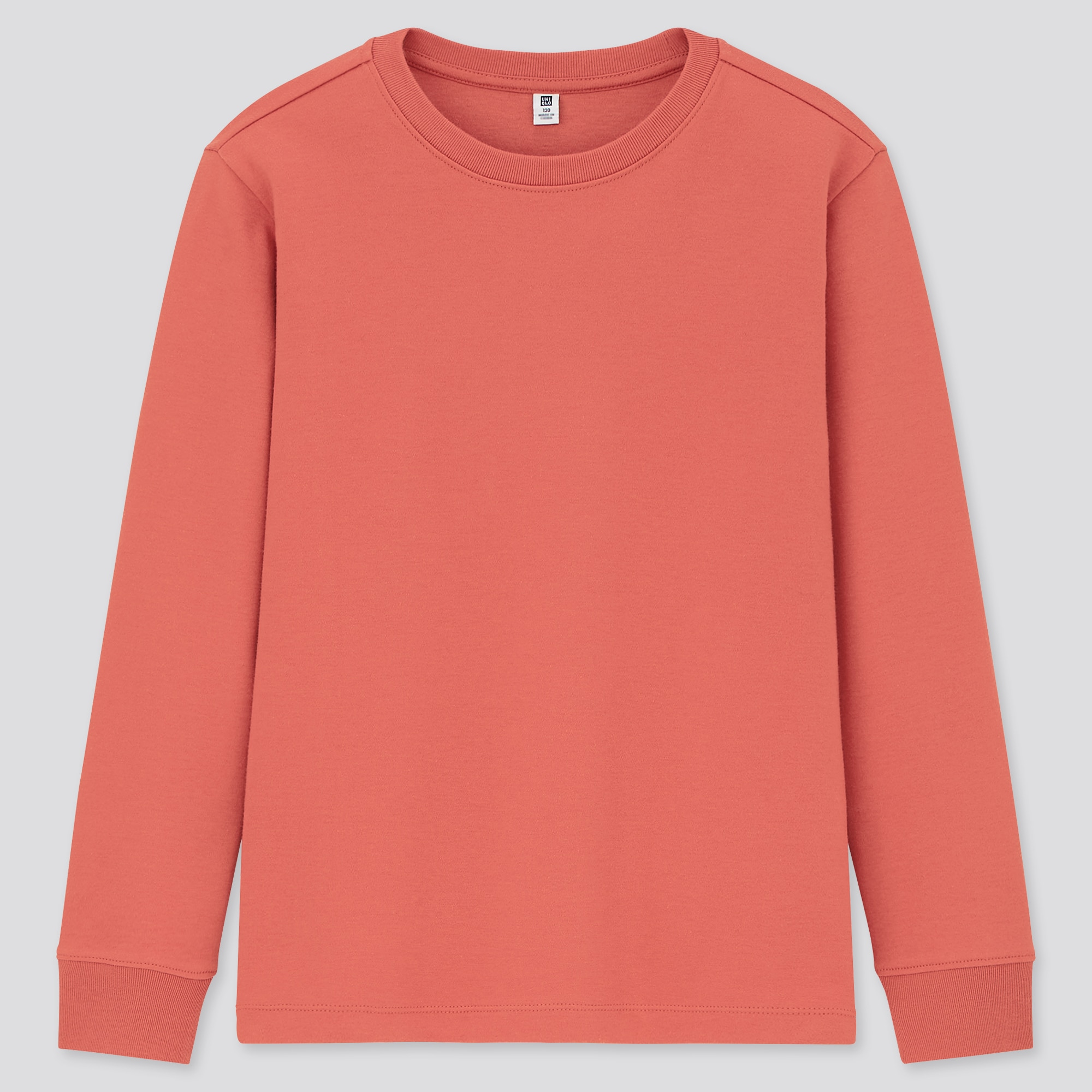 Uniqlo KIDS SOFT TOUCH CREW NECK LONG-SLEEVE T-SHIRT