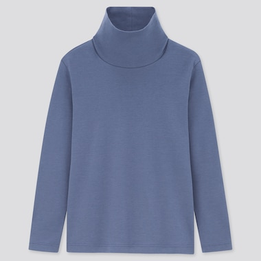 Kids Soft Touch Turtleneck Long Sleeved T-Shirt