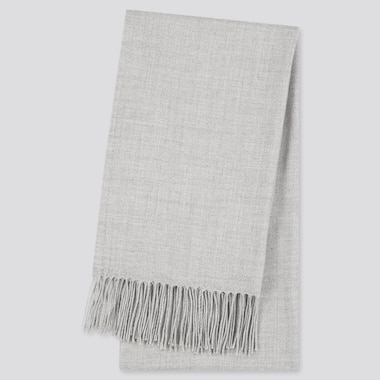 Heattech Scarf, Gray, Medium