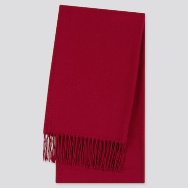 Heattech Scarf, Red, Medium