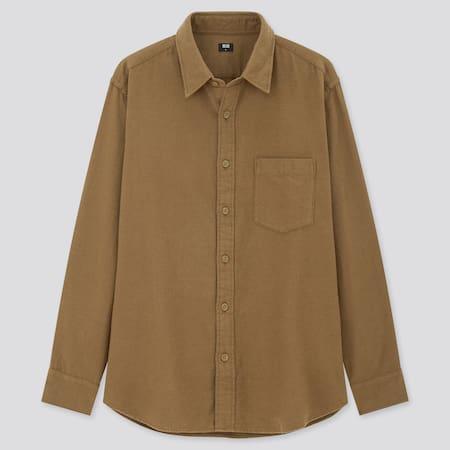Flannel Regular Fit Shirt (Regular Collar)