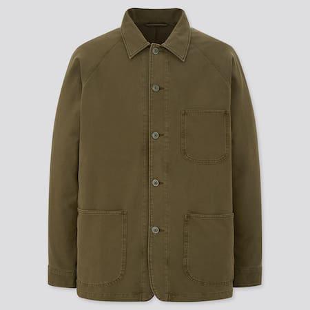 Herren Worker-Jacke in Vintageoptik