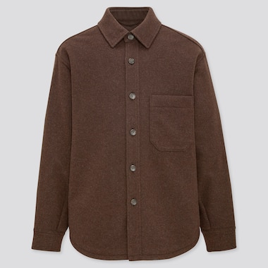 Over Shirt Jacket, Dark Brown, Medium