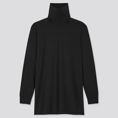 Men HEATTECH Jersey Turtleneck Thermal Top
