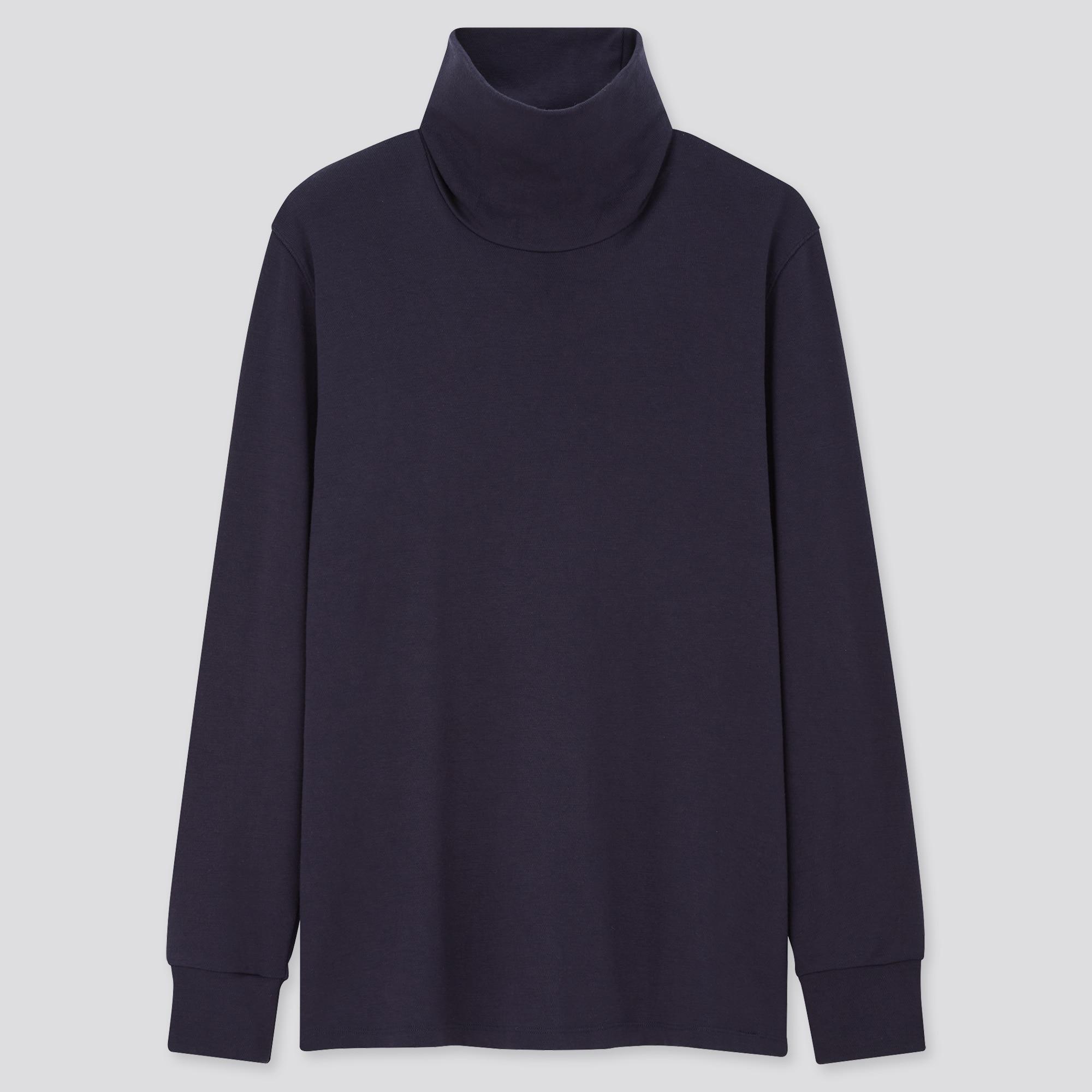 men HEATTECH ultra warm turtleneck long-sleeve t-shirt