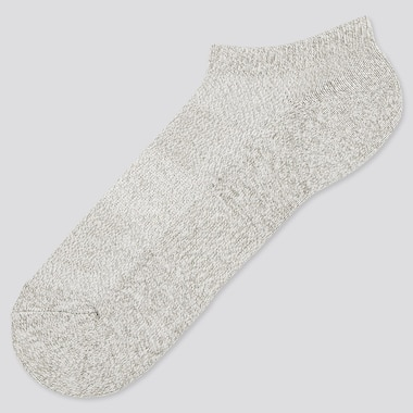 Men Pile Mesh Ankle Socks