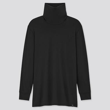 Herren HEATTECH Extra Warm Langarmshirt mit Rollkragen (Thermounterwäsche)