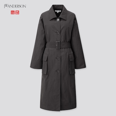 Women Long Coat (Jw Anderson), Black, Medium