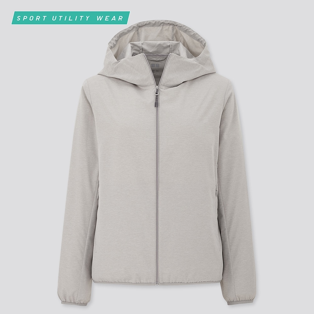 WOMEN POCKETABLE UV PROTECTION PARKA