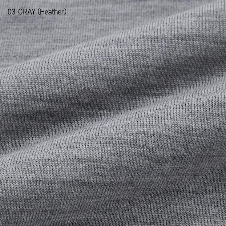 Men Extra Fine Merino Crew Neck Long-Sleeve Sweater, Off White, Large