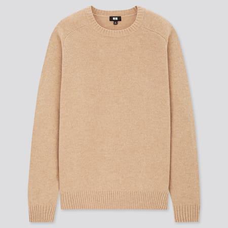 Herren Premium Lammwolle Pullover