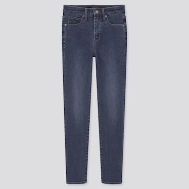 Jeans Alla Caviglia Modellanti Skinny Vita Alta Donna