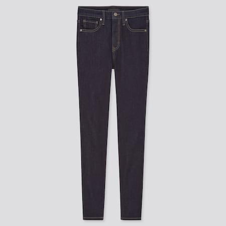 Damen High Waisted Ultra Stretch Jeans in 7/8-Länge