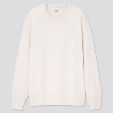 Long-Sleeve Sweatshirt, Light Gray, Medium