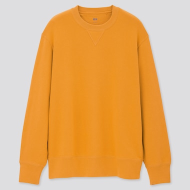 Long-Sleeve Sweatshirt,                                                         Yellow, Medium