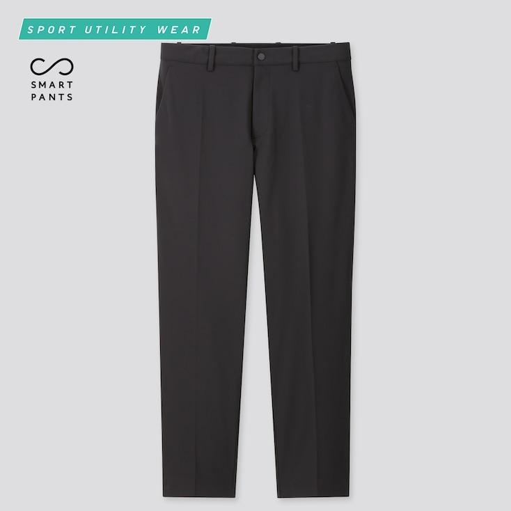 Men Dry-Ex Ultra Stretch Ankle Pants, Black, Large