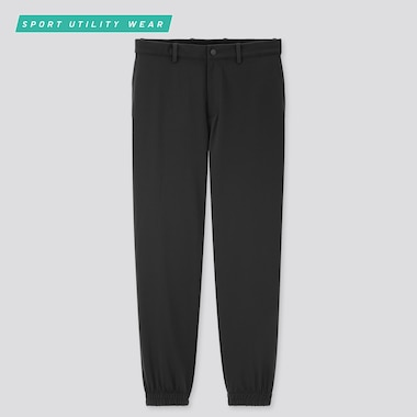 Men Dry-Ex Ultra Stretch Jogger Pants, Black, Medium