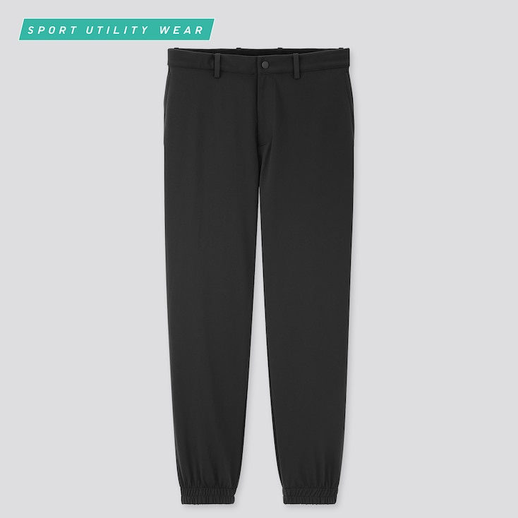 Men Dry-Ex Ultra Stretch Jogger Pants, Black, Large