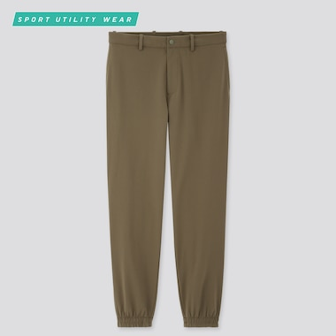 Men Dry-Ex Ultra Stretch Jogger Pants, Olive, Medium