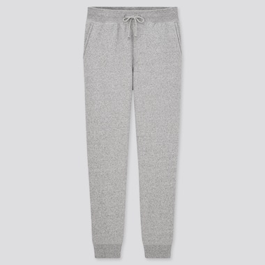 Men Pile-Lined Sweatpants (Tall) (Online Exclusive), Gray, Medium