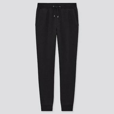 Men Pile-Lined Sweatpants (Tall) (Online Exclusive), Black, Medium