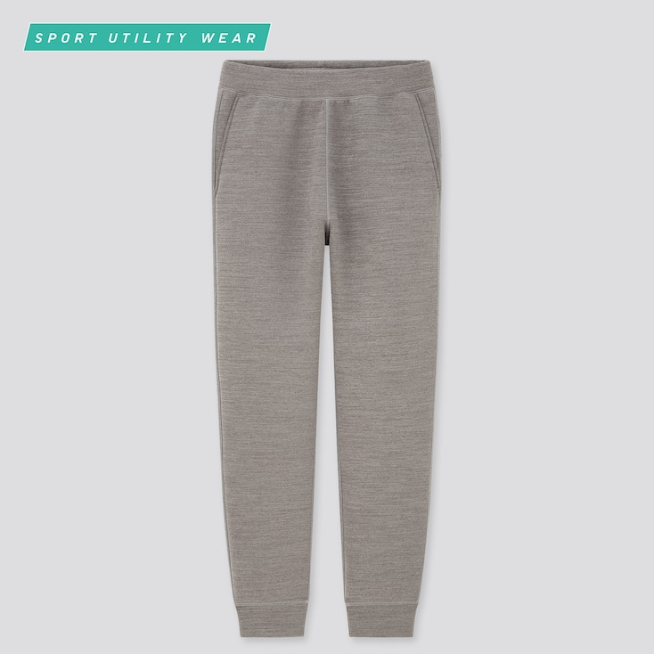 Men Ultra Stretch Dry Sweatpants, Gray, Large