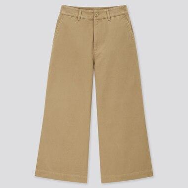 Damen Weite Hose in 7/8 Länge